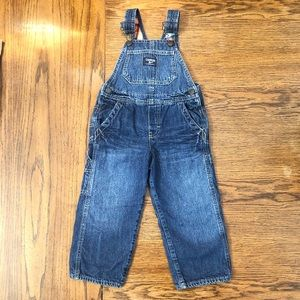 Boy's Flannel-Lined Overalls- Oshkosh